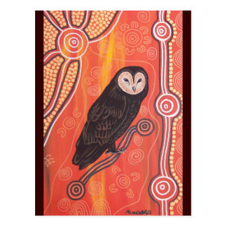 Owl Dreaming Postcard