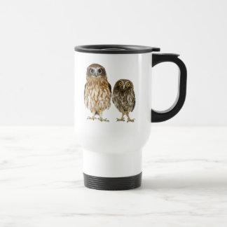 Owl Duo Stainless Steel Travel Mug