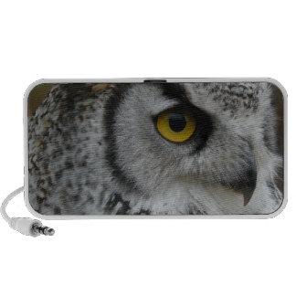 Owl Eye and Beak iPhone Speakers