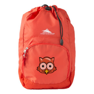 OWL EYES AND FACE by Slipperywindow Backpack