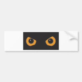Owl Eyes Bumper Stickers