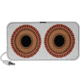 Owl Eyes Doodle speaker