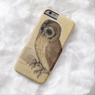 Owl Eyes Face Birthday Shower Party Love Destiny Barely There iPhone 6 Case