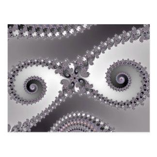 Owl Eyes - Fractal Postcard