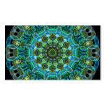 Owl Eyes kaleidoscope Pack Of Standard Business Cards