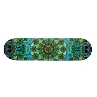 Owl Eyes kaleidoscope Skate Board Deck