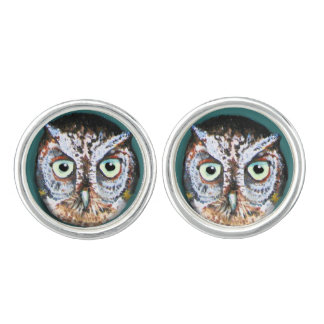 OWL EYES ON YOU CUFFLINKS