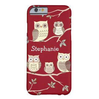 Owl Families on Branches iPhone 6 Case