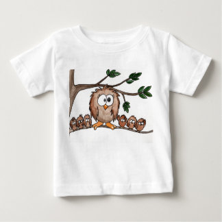 Owl family baby T-Shirt