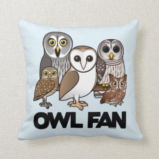 Owl Fan Pillows