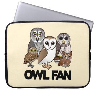 Owl Fan Laptop Sleeves
