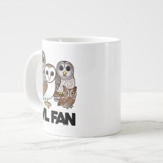 Owl Fan Jumbo Mug