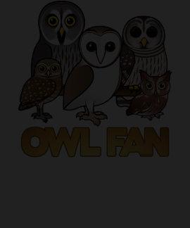 Owl Fan Tee Shirt