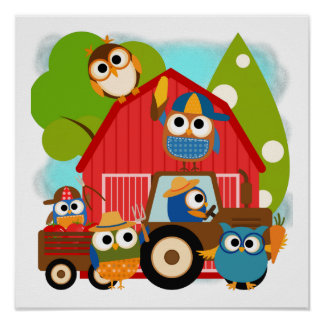 Owl Farmers Poster