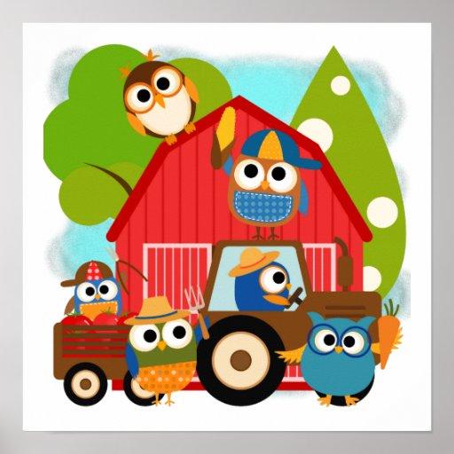 Owl Farmers Poster