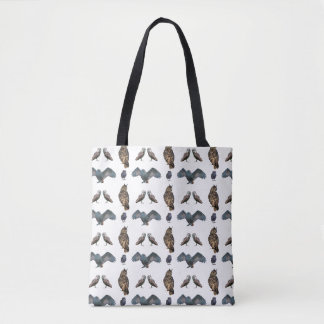 Owl Frenzy All-Over-Print Bag (choose colour)