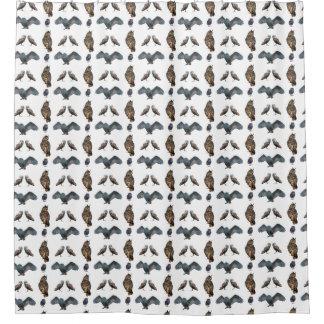 Owl Frenzy Shower Curtain (choose colour)