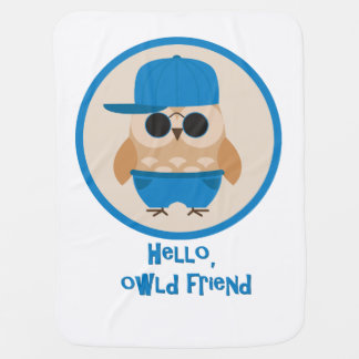 Owl Friend Baby Blanket