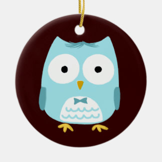 Owl Groom - Fun Wedding Gift Christmas Ornament