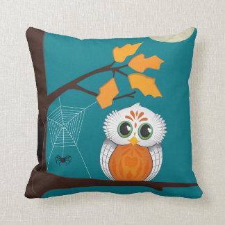 Owl Halloween Pillow