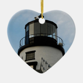OWL HEAD LIGHTHOUSE CHRISTMAS ORNAMENT