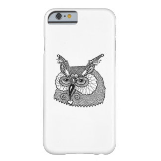 Owl Head Zendoodle Barely There iPhone 6 Case
