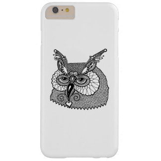 Owl Head Zendoodle Barely There iPhone 6 Plus Case