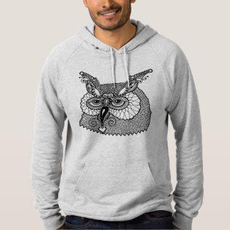 Owl Head Zendoodle Hoodie