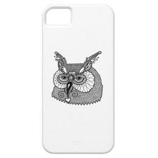 Owl Head Zendoodle iPhone 5 Case