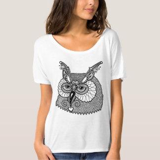 Owl Head Zendoodle T-Shirt