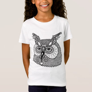 Owl Head Zendoodle T-Shirt