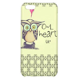Owl heart u iPhone case Case For iPhone 5C