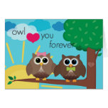 Owl Heart You Forever Card