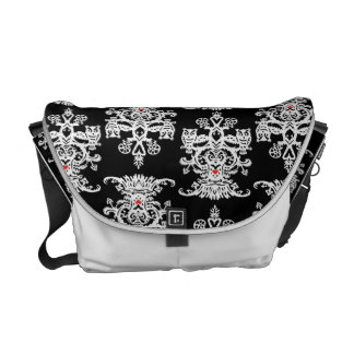 Owl hollow-black white commuter bags
