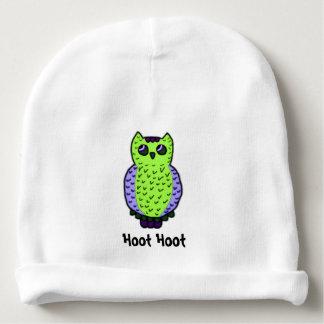 Owl Hoot Baby Beanie