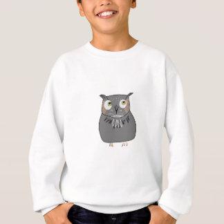 Owl hooting sweatshirt
