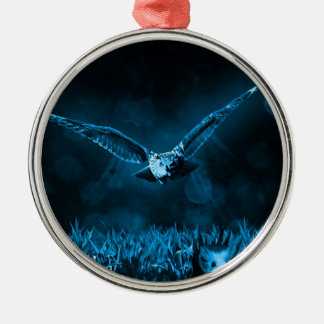 Owl Hunting Christmas Ornament