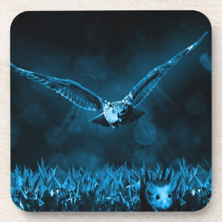 Owl Hunting Coaster