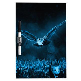 Owl Hunting Dry-Erase Board