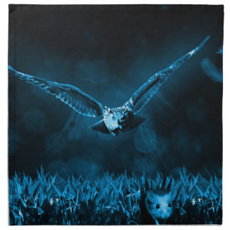 Owl Hunting Napkin