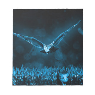 Owl Hunting Notepad