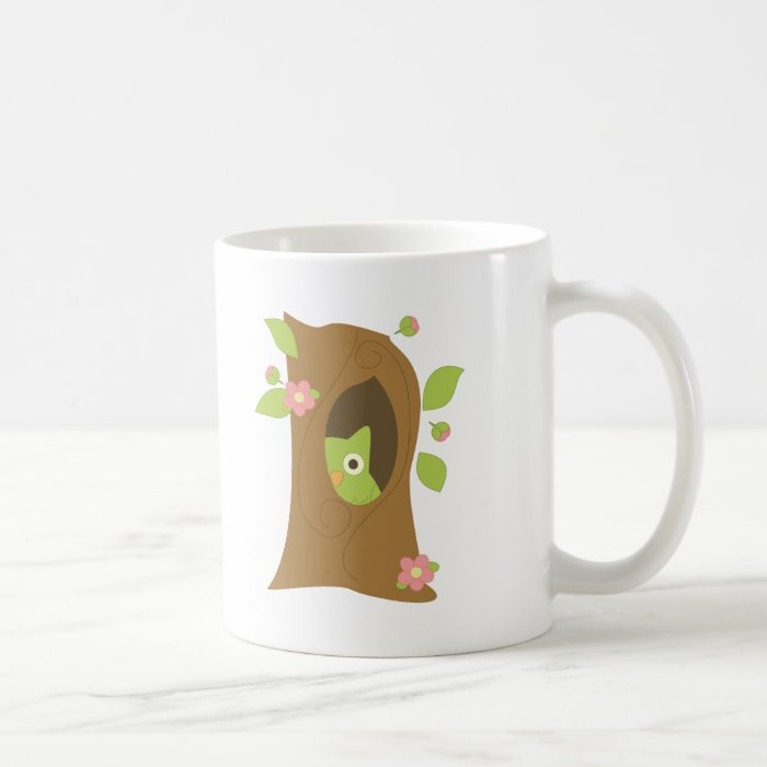 Owl in a Tree Coffee Mug