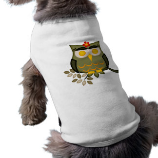Owl in a tree Dog Sweater Shirt