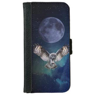 Owl in Flight iPhone 6 Wallet Case
