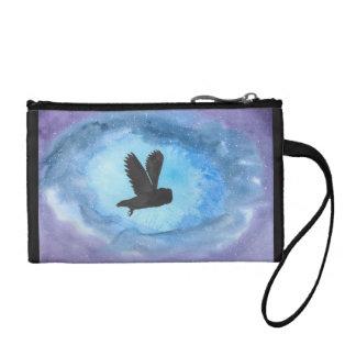 Owl In Flight Key/Coin Clutch