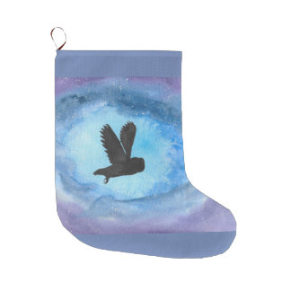 Owl In Flight Stocking