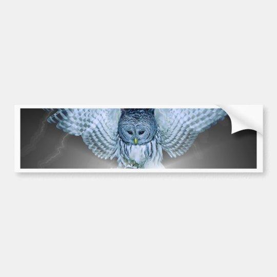 OWL in the DARK Bumper Sticker