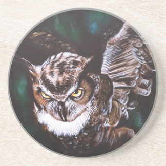 Owl in the night coaster