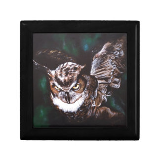 Owl in the night gift box