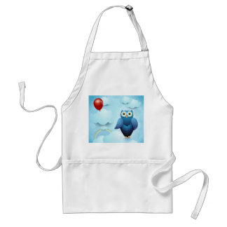 Owl in the sky standard apron